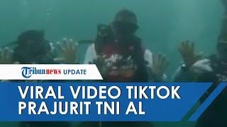 Viral, Prajurit TNI Angkatan Laut TikTok di Bawah Laut