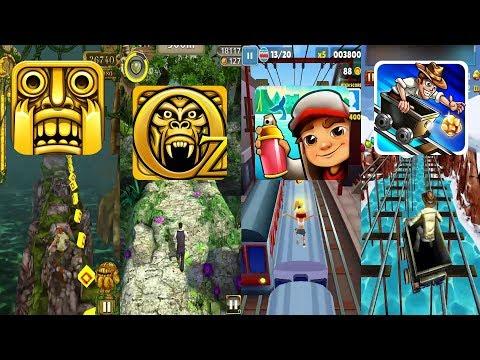 Temple Run 2 Frozen Festival Vs Despicable Me Vs Agent Dash Vs