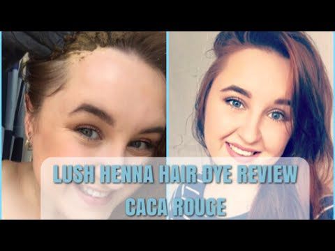 Lush Henna Review First Impressions Caca Rouge Laura Kavanagh