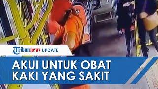 Akui untuk Obati Kaki yang Sakit, Inilah Pengakuan Pencuri Hand Sanitizer di Bus Transjakarta