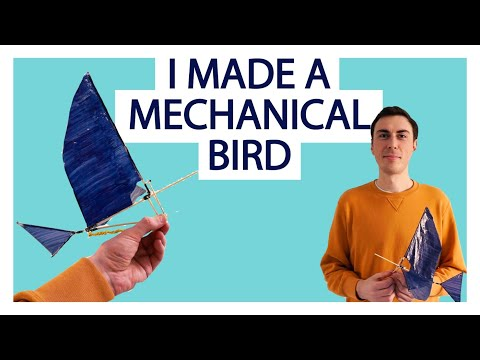 How to make an  ornithopter
