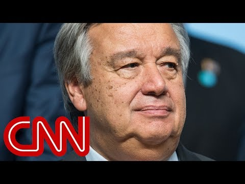 UN chief on Trump's Jersualem move, North Korea