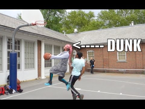 ARAB GUY vs. STRANGERS In Basketball!! UNDEFEATED!!!
