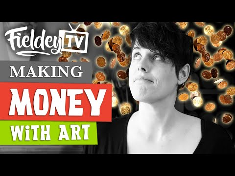 Making money with art – is it easy and how do you do it? | Artist Insider Vlog 04