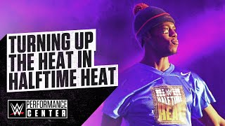 Velveteen Dream And Other NXT Superstars Heat Up Halftime Heat