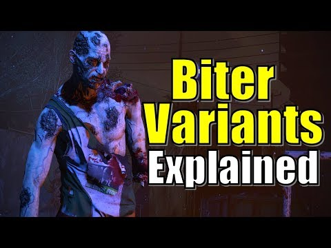 Dying Light Biter Variants Explained | Night Walkers, Toxic, Greys, Enhanced and Scientists Lore