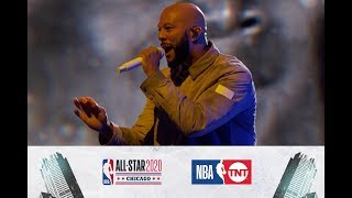 Common Opens Up the All-Star Game  | All-Star 2020