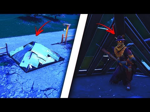 You can get UNDER the map ANYWHERE by using this insane new glitch in Fortnite! Insane glitch!