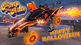 Pimp My Rocket League Ride - Halloween Edition 2019