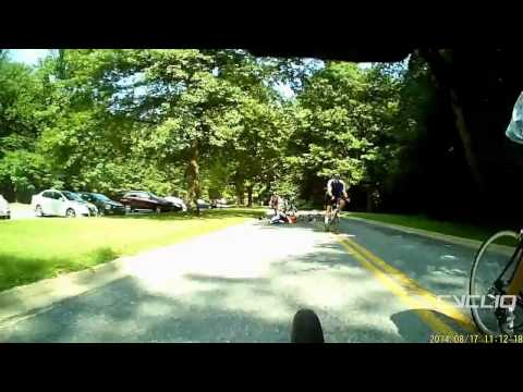 Cyclists Causes Accident