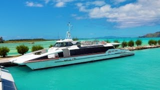 Bora Bora Airport boat transfer to Vaitape
