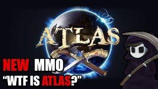 "New MMO ATLAS - ""WTF is it?"" - Sandbox & Survival"
