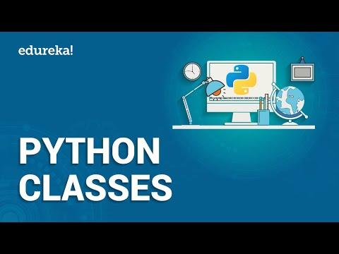 Python Class | Python Classes | Python Programming ... - YouTube