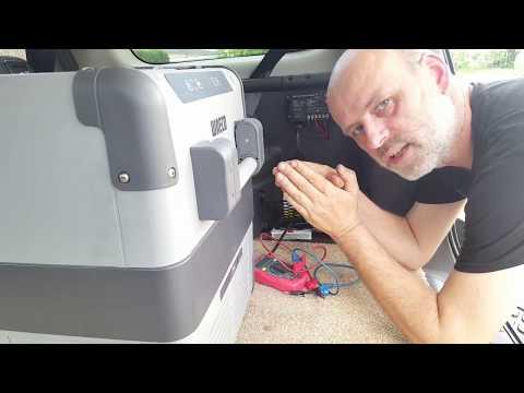 Kühlbox autark im Auto betreiben ↓★klapp auf★↓