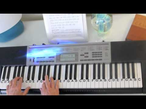 How To Play ~ I Have A Dream ~ ABBA ~ LetterNotePlayer © Mp3