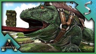 HIGH LEVEL BEELZEBUFO TAMING! - Ark: RAGNAROK [DLC Gameplay S3E70]