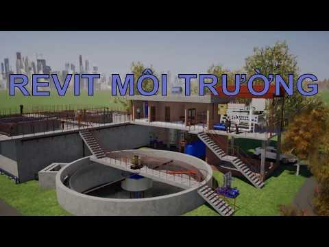 3D Animation - Hệ thống xử lý nước thải tập trung KCN Nhựt Chánh, Long An