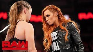 ULTIMA HORA: Becky Lynch chocará ante Ronda Rousey en WWE WrestleMania 35