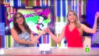 """Anna Simon Y Ana Morgade, Amigas En Zapeandisney: """"Juntas Hasta El Infinito Y Más Allá"""""""