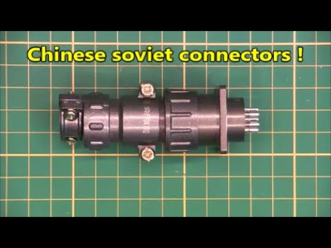 Chinese made soviet sonnectors, new from Ebay !