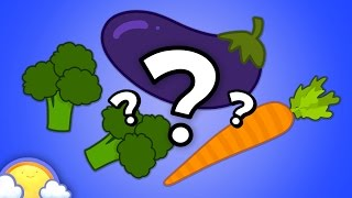 Vegetable Guessing Game for Kids! | CheeriToons