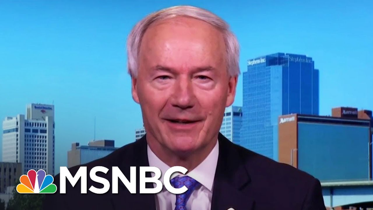 GOP Governor Asa Hutchinson On Repeal And Delay: 'Doesn't Sound Like A Good Idea To Me' | MSNBC thumbnail