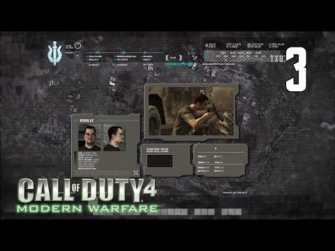 Call Of Duty 4 Modern Warfare Walkthrough 1 Fng новобранец