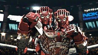 人类拳击被禁止,机器人登上擂台,连小孩也能控制它比赛!速看科幻电影《铁甲钢拳》