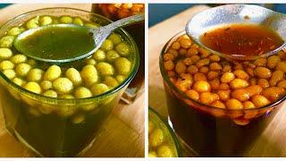 स्वादिष्ट चटपटा तीखा और मीठा गोलगप्पे का पानी आसानी से बनाये इस तरीके से  Golgappe Ka Pani 2 Types