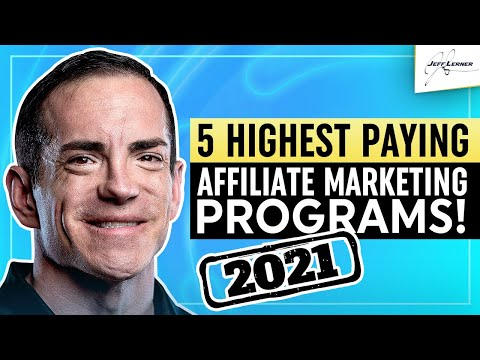 The Top 5 Affiliate Marketing Programs For Beginners (2021)