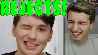 TomSka Rejects Reaction (feat. Danisnotonfire)