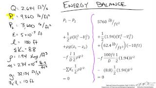 Pipe Flow Problem (Determine Diameter)
