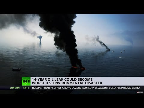 14yo oil leak might become worst US offshore disaster