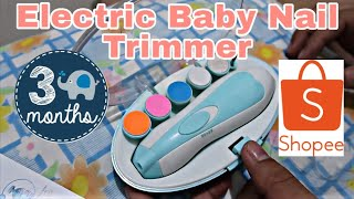 ELECTRIC BABY NAIL TRIMMER | 3-Month Old | Vlog # 011
