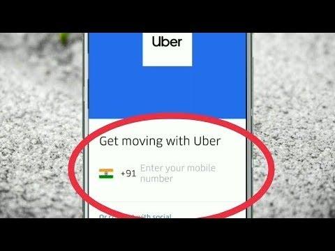 How To Create Uber Account