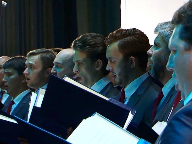 Хор Сретенского монастыря исполнил песни военных лет