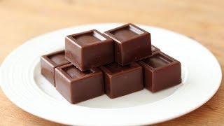 手作りバレンタインチョコ 生キャラメル・チョコレートの作り方&ラッピング Chocolate Salted Caramel|HidaMari Cooking