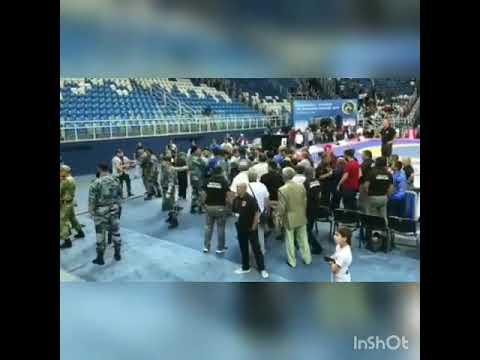 Видеофакт: Скандал на чемпионате России по вольной борьбе