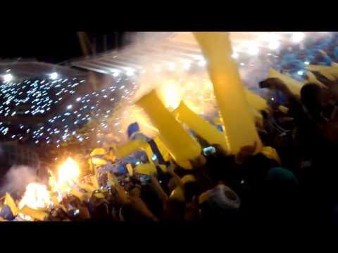 """""""Recibimiento Rosario Central Final Copa Arg 2015"""" Barra: Los Guerreros • Club: Rosario Central"""