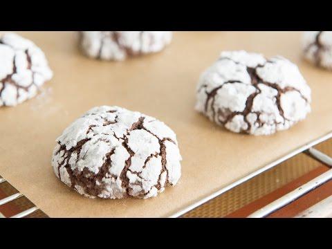 CHOCOLATE CRINKLE COOKIES – Christmas Cookie