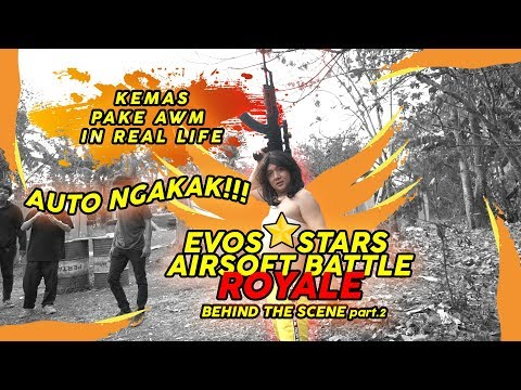 AWM KEMAS DI REAL LIFE AUTO BAR BAR!! - FREE FIRE INDONESIA BATTLEGROUNDS