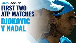 Nadal vs Djokovic: The Beginning of the Rivalry!