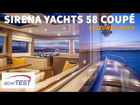 Sirena Yachts 58 Coupé (2021) - Features Video