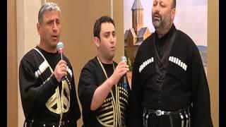 "2 JUNE 2015, PRESS CONFERENCE, GEORGIAN SINGERS SINGING ""BLACK SWALLOW"" (""Черная ласточка"")"