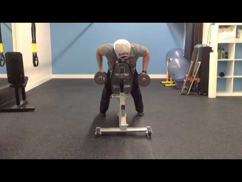 Neutral Grip Chest Supported Dumbbell Row