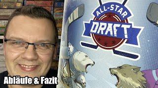 All-Star Draft (Sun Core Games) - Eishockey steht hier thematisch im Vordergrund - ab 10 Jahre