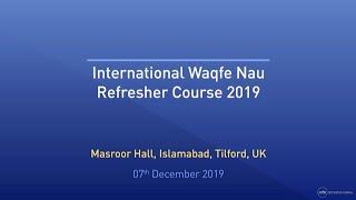2019- International Waqf-e-Nau Conference (English)