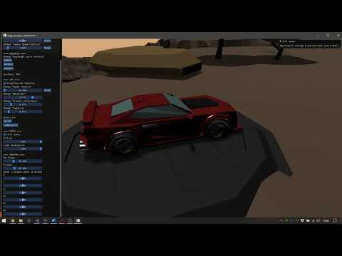 Opengl project - Real Time Graphics Programming exam (metalness)