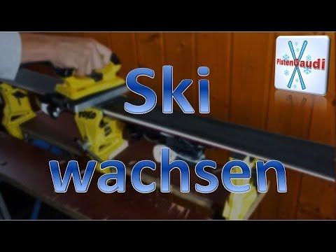 Den Ski richtig wachsen! [Skipräparation] [PistenGaudi]