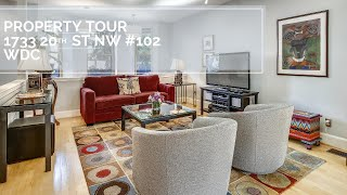Property Tour: 1733 20th St NW #102, WDC